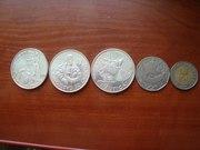 Португальские монеты ! 3 серебряные 2 просто с колекцыи !!! пишите на почту или вк ! (konovodov2010@yandex.ua) id69644435