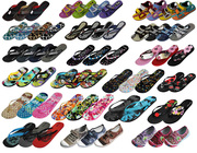 Оптом со склада от производителя шлепанцы,  вьетнамки,  пляжная обувь