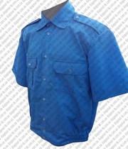 Рубашка форменная серая на короткий рукав
