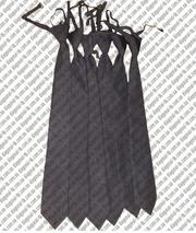 Галстук форменный черный, синий
