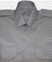 Рубашка форменная серая на короткий, длинный рукав