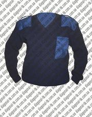Джемпер форменный синий, черный