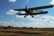 Защита растений авиационным методом