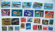 почтовые марки самолеты
