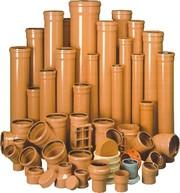 Трубы ПВХ и фитинги для наружной канализации Винница