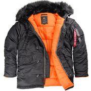 Супер тёплые зимние куртки Аляска Американской фирмы Alpha Industries