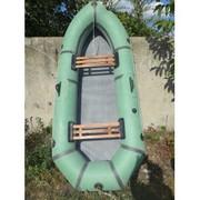 Двухместная резиновая лодка
