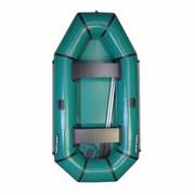 Надувная резиновая лодка Лисичанка из ПВХ