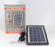 Солнечная панель Solar board 3W-9V+torch charger с возможностью заряжа