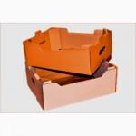 Картонный ящик, лоток евротара, евролоток для клубники, персика, черешни