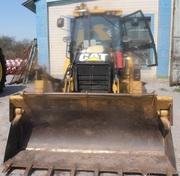 Продаем колесный экскаватор-погрузчик Caterpillar 428E,  2010 г.в.