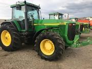 Трактор  John Deere 8400  1999 року випуску.  Напрацювання - 8169м/г.